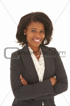 Beautiful African businesswoman
