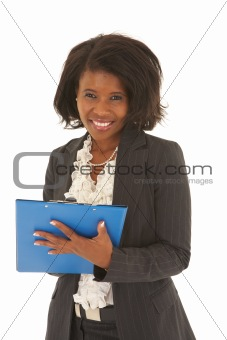 Beautiful African businesswoman