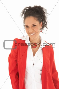 Beautiful Caucasian businesswoman
