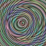 colorful swirl web pattern