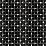 metallic fence pattern