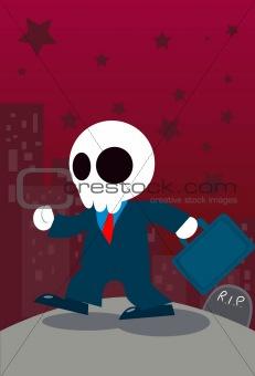 Ghost Businessman