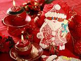 Gingerbread Santa Claus for Christmas
