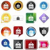 Multiple Buttons - Church