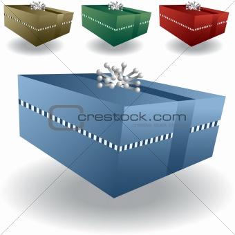 3D Gift Box Set