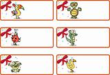 Christmas Gift Tags - Jungle Animals