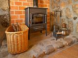 Fireplace and tools