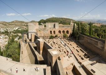 Alhambra ruins