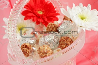 Candies and pralines