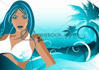 Blue Beach Party