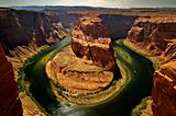 Horseshoe bend, near Page , Arizona