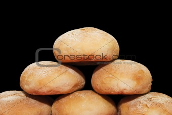 Bread pyramid