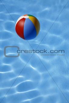 Beachball in Water