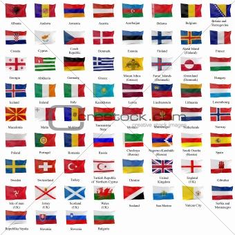 All european flag