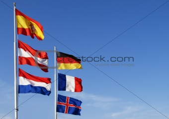 Flags of European nation