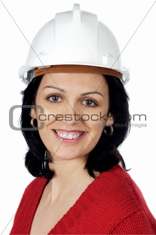attractive lady architect