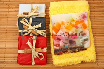 Three gifts and fruits soap