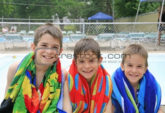 Boys at the Pool