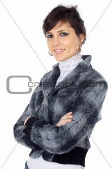 attractive and elegant business woman