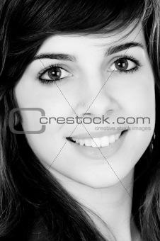 attractive adolescent girl