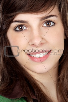 attractive adolescent girl
