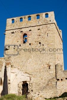 castle in ruins