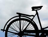 vintage bicycle macro