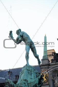 Brabo, the Symbol of Antwerp