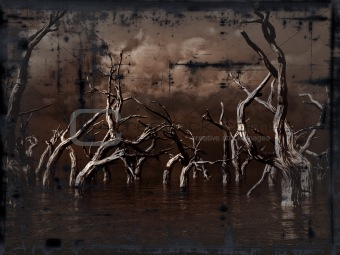 grunge dead trees
