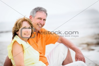 Mature couple on holidays