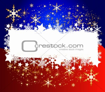 Abstract christmas background- space for your text