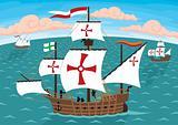 Columbus' s Ships