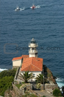 LIghthouse in Cudillero (asturias - Spain)