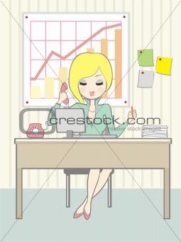 office_girl