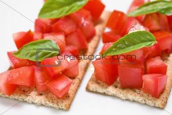 Tomato snaks