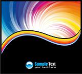 Abstract Business Card backgrounds for flyers