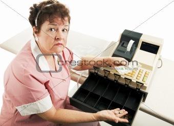 Cashier - Recession