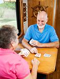 RV Seniors - Playing Cribbage