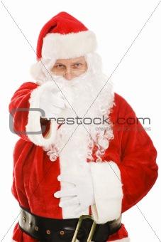 Santa Points at You