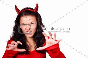 Aggressive devil