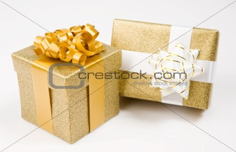 Beautiful golden gifts