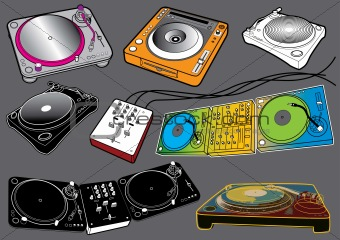 Turntables - Music Set #2