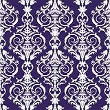 Baroque seamless pattern, vector illustration
