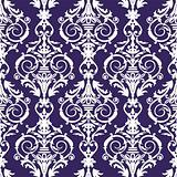 Baroque seamless pattern, vector illustration