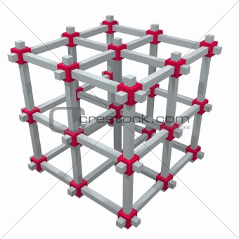 cage frame sturcture