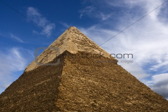Top of pyramid