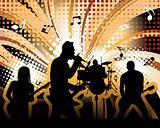 rock group StockPhoto