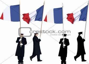 French color guard