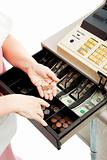 Cash Register Drawer Vertical