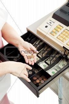 Cash Register Drawer Vertical